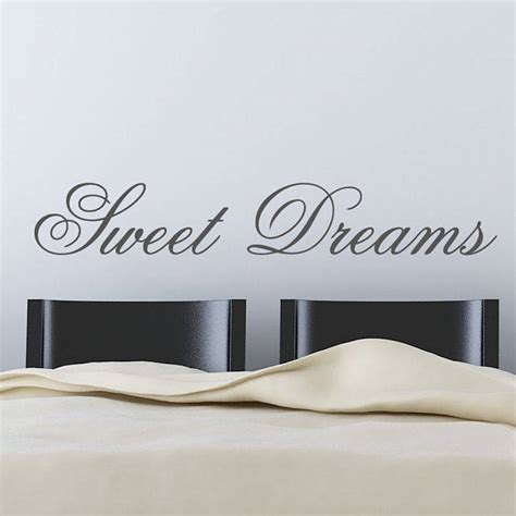 stickers phrase chambre adulte 39 dreams 39 wall stickers by parkins interiors