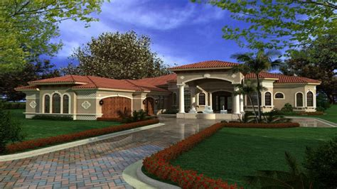 story mediterranean house plans mediterranean houses  courtyards mediterranean dream