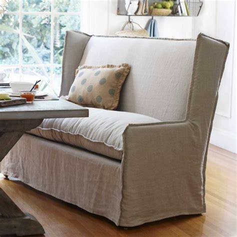 dining settee bench 19 lovely ways a settee can squeeze more guests around the