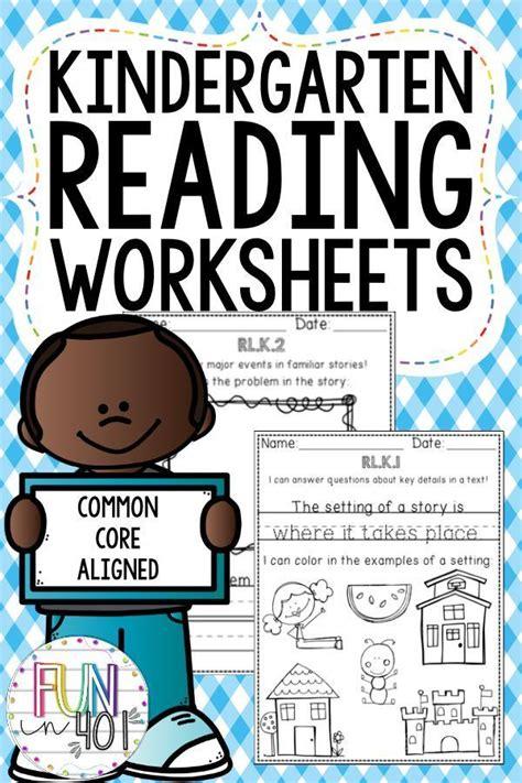 kindergarten reading worksheets rlk rlk