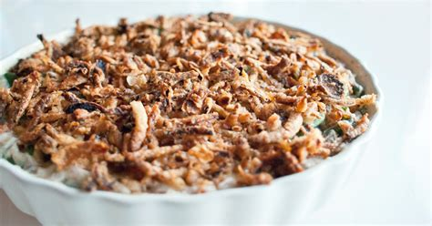 healthy green bean casserole recipe popsugar fitness
