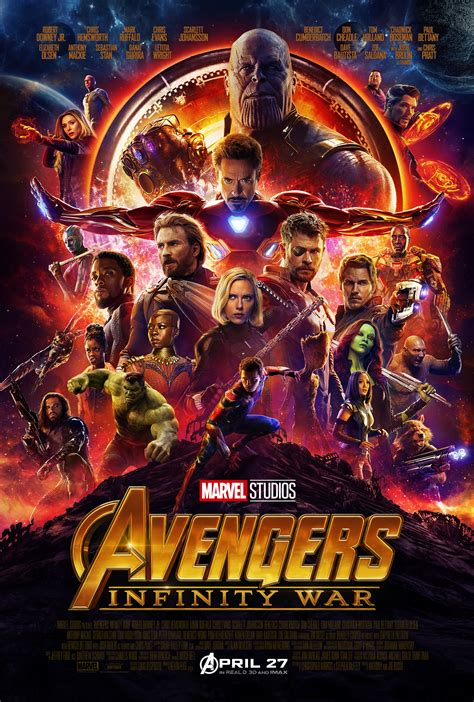 Infinity War Imax Poster Hides Easter Eggs Hawkeye