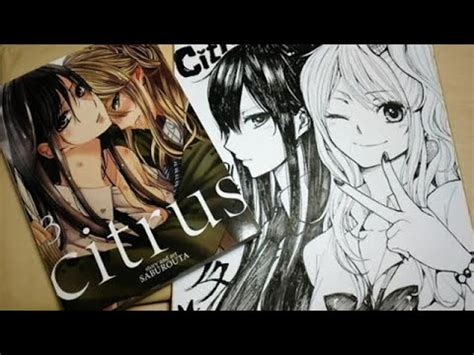 Manga Unboxing: Citrus Volume 3 YouTube