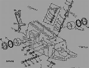 Rockshaft Housing Parts  03c08  - Tractor John Deere 2940 - Tractor