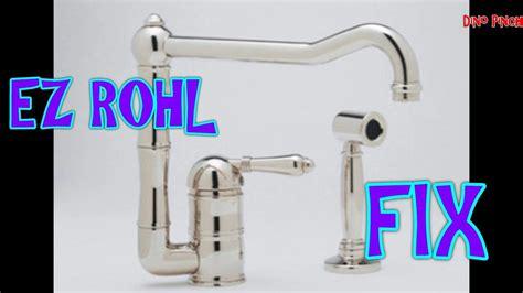 fix rohl faucet soap pump video youtube