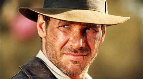 harrison fords indiana jones voted  greatest