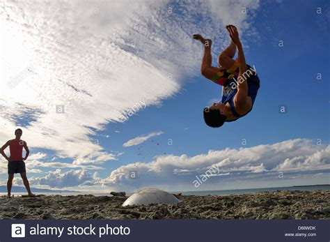 Somersaults Stock Photos Images Alamy