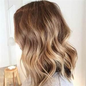 Balayage Cheveux Frisés : balayage cheveux chatain blond ~ Farleysfitness.com Idées de Décoration