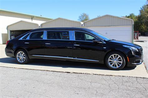 federal coach cadillac xts  raised roof funeral