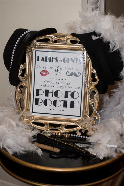 25 Black and Gold Great Gatsby Inspired Wedding Ideas