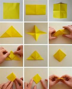 Servietten Blumen Falten : origami blume falten anleitung 7 ideen f r einfache blumen aus papier ~ Watch28wear.com Haus und Dekorationen