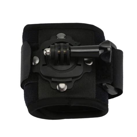 multi angle adjustable gopro velcro wrist strap band arm