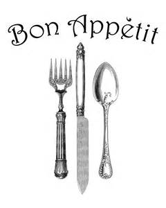 Knife Fork and Spoon Clip Art