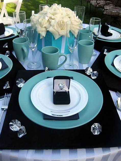 breakfast  tiffanys party event images