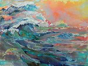 Seascape - Marty Husted Contemporary Paintings
