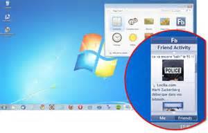 afficher le bureau windows 7 comment afficher les gadgets sur le bureau windows 7