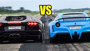 Ferrari Vs Lamborghini : ferrari f12 berlinetta vs lamborghini aventador revs battle youtube ~ Medecine-chirurgie-esthetiques.com Avis de Voitures