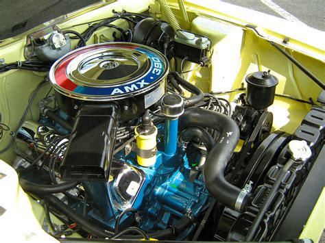 Camshaft Diagram For A Javelin by File 1968 Amc Amx Yellow 390 Auto Md Er Jpg Wikimedia