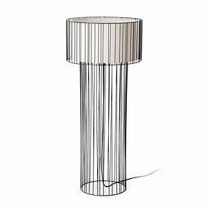 Lampadaire Interieur Design : lampadaire design int rieur linda faro noir ~ Teatrodelosmanantiales.com Idées de Décoration
