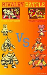 Rivalry Battle: Team Magmar vs Team Electabuzz | Pokémon Amino