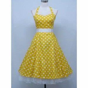 robe jaune pois blanc ceinture tulle blanc With robe a petit pois
