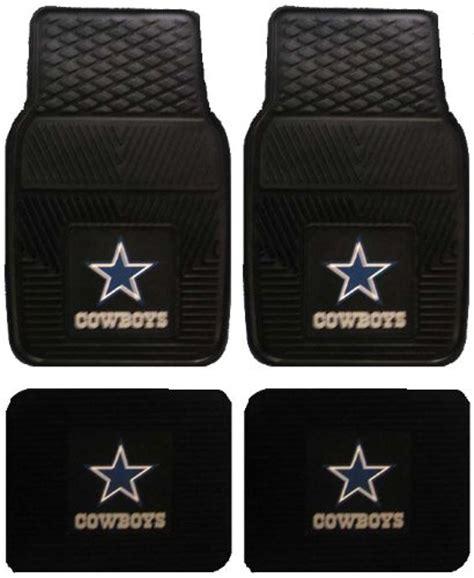 dallas cowboys suv floor mats front rear car truck suv floor mats heavy duty vinyl nfl
