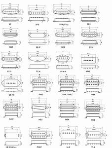 All Pickups Mounting Drawing