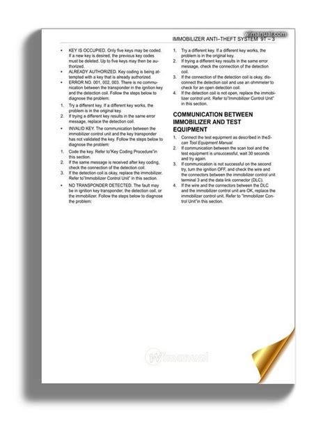motor repair manual 2000 daewoo nubira electronic throttle control daewoo nubira j100 factory service manual