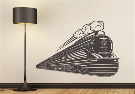 art deco steam engine wall artus