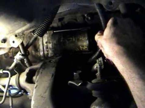toyota  runner starter motor   replace install