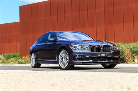 Flagship Bmw Alpina B7 Bi-turbo Lands Stuffed With 447kw