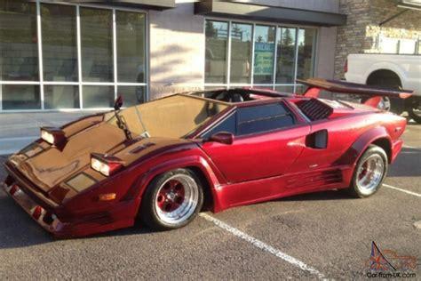 Kit Cars For Sale by Countach Fiero Kit Cars For Sale 1989 Lamborghini