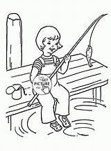 Fishing Coloring Printable Funny Designlooter Sheets Gone Seasons 2000px 1480 14kb Radiokotha sketch template