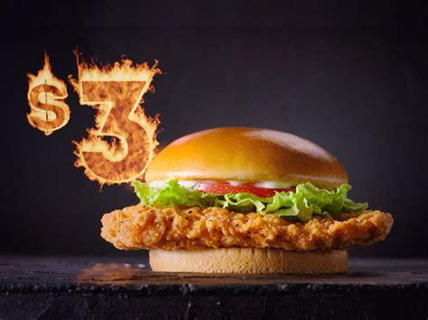 wendys canada offers  spicy chicken sandwich