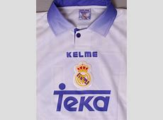 199798 Real Madrid Match Issue Home Shirt Petkovic #20 L