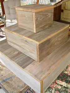 Wooden, Tiered, Cake, Stand, 16, Inch, Tall, 4-tier, Rustic, Wood, Slice, Cupcake, Stand