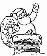 Coloring Fireplace Father Chimney Drawings Printable Drawing Santa Cliparts Colouring Chimneys Quotes Sheet Claus Getcolorings Library Clipart sketch template