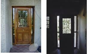 Grille Porte D Entrée : porte d 39 entr e porte 1900 avec grille en fonte porte ~ Melissatoandfro.com Idées de Décoration