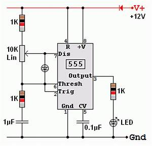 555 pwm dimmer With 555 stepper pulse generator electronic circuit diagram
