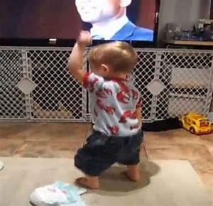 YouTube Funny Baby Dance | just dance man.. | Pinterest