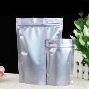 Beutel Mit Reißverschluss : luftdicht stehen sie oben den folien beutel der vertikale silberne aluminiumfolie tasche mit ~ Markanthonyermac.com Haus und Dekorationen