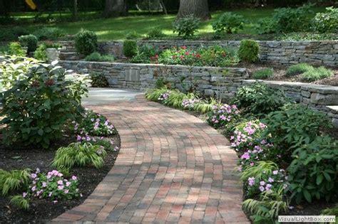 landscaping ideas for sidewalks sidewalk garden ideas pinterest