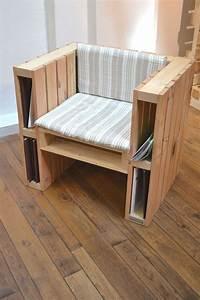Fabriquer Un Fauteuil : fabriquer un fauteuil avec des palettes voici 20 id es ~ Zukunftsfamilie.com Idées de Décoration