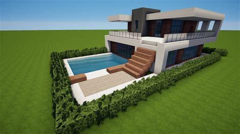 Minecraft Modernes Haus Bauen Tutorial [haus 92] Youtube