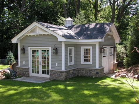 L Home Design Llc : Gable-vents-garage-and-shed-traditional-with-cross-gable