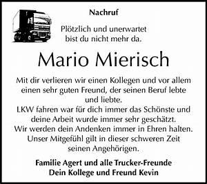 Super Sonntag Wittenberg : traueranzeigen von mario mierisch ~ Watch28wear.com Haus und Dekorationen