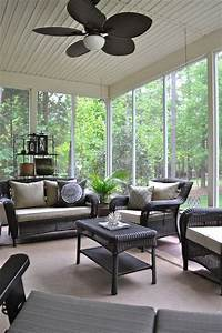 27 screened and roofed back porch decor ideas shelterness With screened in porch furniture ideas