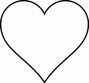 Heart black and white heart clipart black and white hearts ...