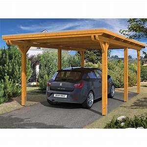 Holz Für Carport Kaufen : skan holz carport emsland 354 cm x 604 cm eiche hell kaufen bei obi ~ Orissabook.com Haus und Dekorationen