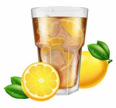 Tea Ice Lemon Vector Cubes Eps Welovesolo